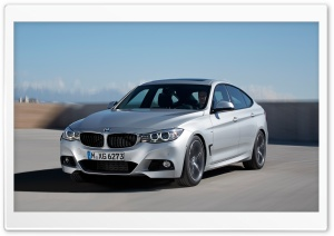 BMW 3-Series Gran Turismo - 2014 HD Wide Wallpaper for Widescreen