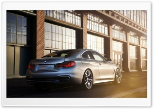 BMW 4-Series Coupe - 2013 Rear HD Wide Wallpaper for Widescreen