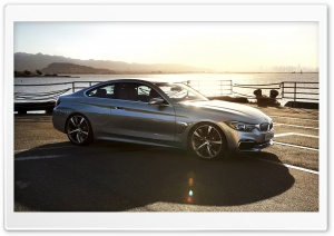 BMW 4-Series Coupe - 2013 Side Quarter-View HD Wide Wallpaper for Widescreen