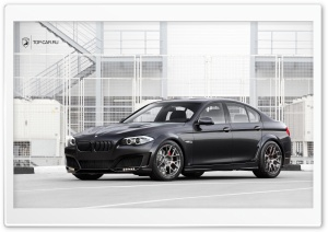 BMW 5-er Lumma Design HD Wide Wallpaper for Widescreen