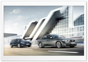 BMW 5 Series F10 And BMW 5 Series Touring F11 HD Wide Wallpaper for Widescreen