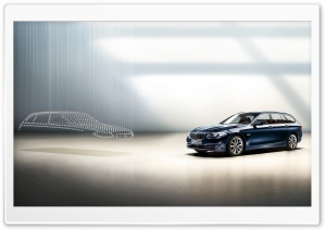 BMW 5 Series Touring HD Wide Wallpaper for 4K UHD Widescreen desktop & smartphone