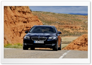 BMW 5 Series Touring 2010 HD Wide Wallpaper for Widescreen