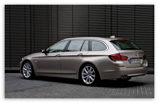 BMW 5 Series Touring 520D In Milano Beige   Rear Angle HD wallpaper for Wide 16:10 5:3 Widescreen WHXGA WQXGA WUXGA WXGA WGA ; HD 16:9 High Definition WQHD QWXGA 1080p 900p 720p QHD nHD ; Standard 3:2 Fullscreen DVGA HVGA HQVGA devices ( Apple PowerBook G4 iPhone 4 3G 3GS iPod Touch ) ; Mobile 5:3 3:2 16:9 - WGA DVGA HVGA HQVGA devices ( Apple PowerBook G4 iPhone 4 3G 3GS iPod Touch ) WQHD QWXGA 1080p 900p 720p QHD nHD ;