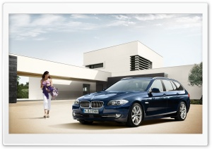BMW 5 Series Touring F11 HD Wide Wallpaper for Widescreen