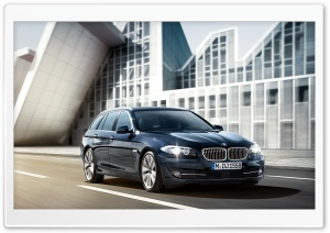 BMW 5 Series Touring F11   Exterior Design HD Wide Wallpaper for Widescreen