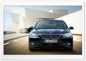BMW 5 Series Touring F11   Exterior Design   Front HD Wide Wallpaper for Widescreen