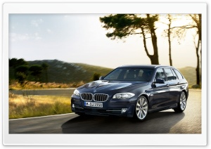 BMW 5 Series Touring F11   Exterior Design   Front Angle HD Wide Wallpaper for Widescreen