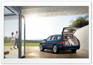 BMW 5 Series Touring F11   Exterior Design   Rear HD Wide Wallpaper for Widescreen