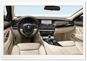 BMW 5 Series Touring F11   Interior HD Wide Wallpaper for Widescreen
