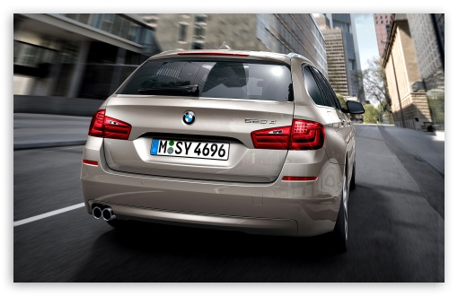 BMW 5 Series Touring F11 In Milano Beige   Rear View HD wallpaper for Wide 16:10 5:3 Widescreen WHXGA WQXGA WUXGA WXGA WGA ; HD 16:9 High Definition WQHD QWXGA 1080p 900p 720p QHD nHD ; Standard 4:3 5:4 3:2 Fullscreen UXGA XGA SVGA QSXGA SXGA DVGA HVGA HQVGA devices ( Apple PowerBook G4 iPhone 4 3G 3GS iPod Touch ) ; iPad 1/2/Mini ; Mobile 4:3 5:3 3:2 16:9 5:4 - UXGA XGA SVGA WGA DVGA HVGA HQVGA devices ( Apple PowerBook G4 iPhone 4 3G 3GS iPod Touch ) WQHD QWXGA 1080p 900p 720p QHD nHD QSXGA SXGA ;