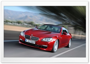 BMW 6 Series HD Wide Wallpaper for Widescreen