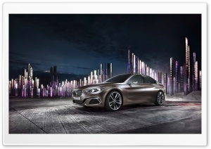BMW Concept Compact Sedan HD Wide Wallpaper for Widescreen