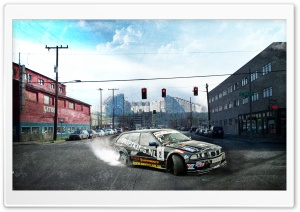 Bmw Drift Chisinau HD Wide Wallpaper for Widescreen