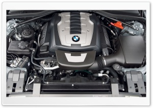 BMW Engine HD Wide Wallpaper for Widescreen