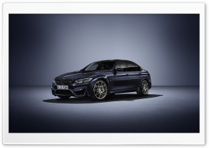 BMW F80 M3 Sedan HD Wide Wallpaper for Widescreen