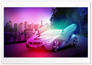BMW i8 HD Wide Wallpaper for Widescreen