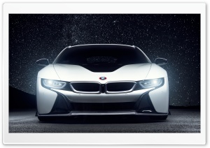 BMW i8 Aero Vorsteiner HD Wide Wallpaper for Widescreen