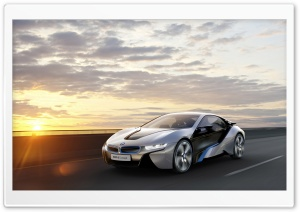 BMW i8 Car Concept HD Wide Wallpaper for 4K UHD Widescreen desktop & smartphone