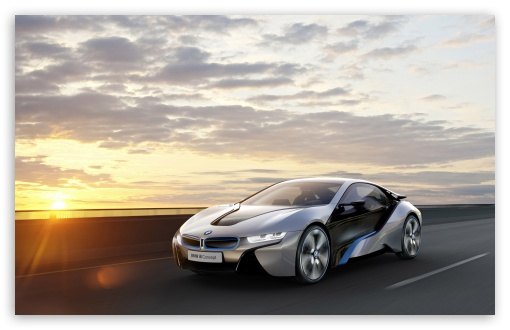 Download BMW I8 Car Concept HD Wallpaper