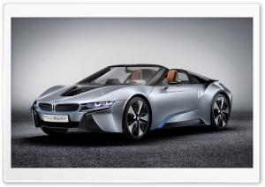 BMW I8 Spyder HD Wide Wallpaper for Widescreen