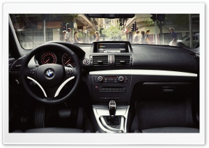 BMW Interior HD Wide Wallpaper for Widescreen