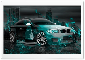 BMW M1 Anime Boy Aerography Energy Car 2015 design by Tony Kokhan HD Wide Wallpaper for Widescreen