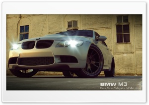 BMW M3 3D Max HD Wide Wallpaper for Widescreen