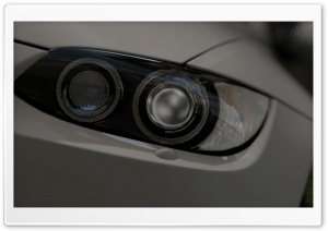 BMW M3 - Detailed lights HD Wide Wallpaper for Widescreen