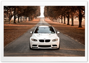 BMW M3 Fall HD Wide Wallpaper for Widescreen