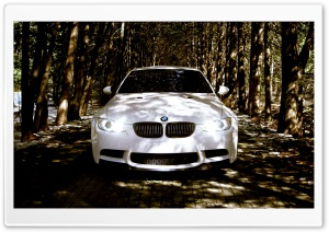 BMW M3 Front HD Wide Wallpaper for Widescreen