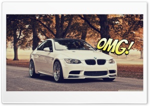 Bmw m3 OMG HD Wide Wallpaper for Widescreen