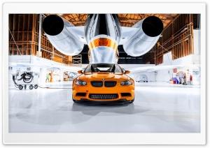 BMW M3 Orange Car Ultra HD Wallpaper for 4K UHD Widescreen desktop, tablet & smartphone