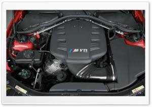 BMW M3 V8 Engine 1 HD Wide Wallpaper for Widescreen