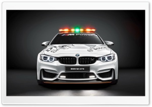 BMW M4 GTS Safety Car HD Wide Wallpaper for 4K UHD Widescreen desktop & smartphone