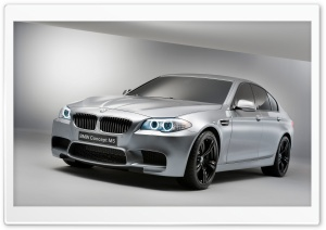 BMW M5 Concept HD Wide Wallpaper for Widescreen