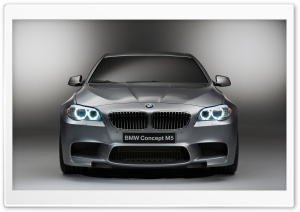BMW M5 Concept Front HD Wide Wallpaper for 4K UHD Widescreen desktop & smartphone