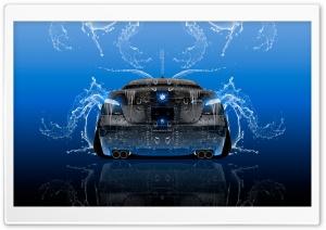 BMW M5 E60 Tuning Back Super Water Car 2015 design by Tony Kokhan Ultra HD Wallpaper for 4K UHD Widescreen desktop, tablet & smartphone