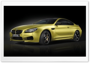 BMW M6 Coupe Celebration Edition HD Wide Wallpaper for Widescreen
