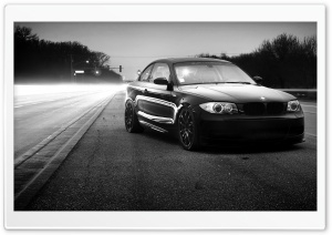 BMW Monochrome HD Wide Wallpaper for Widescreen