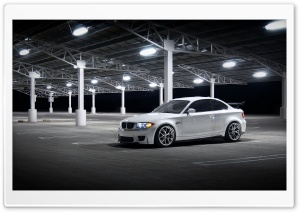 BMW Night HD Wide Wallpaper for Widescreen
