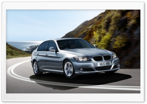 BMW On Road HD Wide Wallpaper for Widescreen