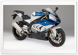 BMW S1000RR 2014 blue Ultra HD Wallpaper for 4K UHD Widescreen desktop, tablet & smartphone