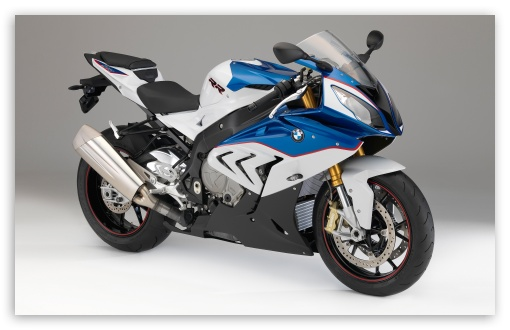 Download BMW S1000RR 2014 blue HD Wallpaper