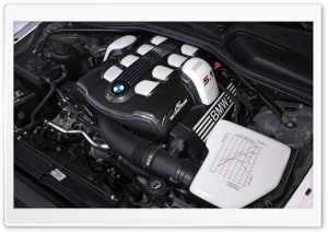 BMW Schnitzer Engine HD Wide Wallpaper for Widescreen