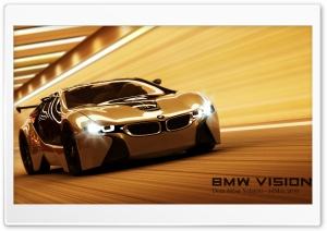 BMW Vision 3D Max HD Wide Wallpaper for Widescreen