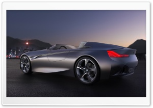 BMW Vision Connecteddrive HD Wide Wallpaper for Widescreen