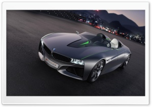 BMW Vision ConnectedDrive Evening Ultra HD Wallpaper for 4K UHD Widescreen desktop, tablet & smartphone