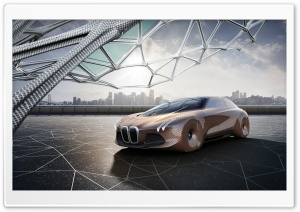 BMW Vision Next 100 Concept Car HD Wide Wallpaper for Widescreen