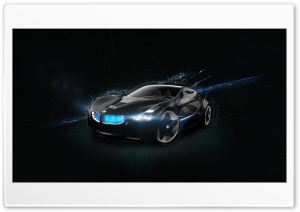 BMW Vision Super Car HD Wide Wallpaper for Widescreen